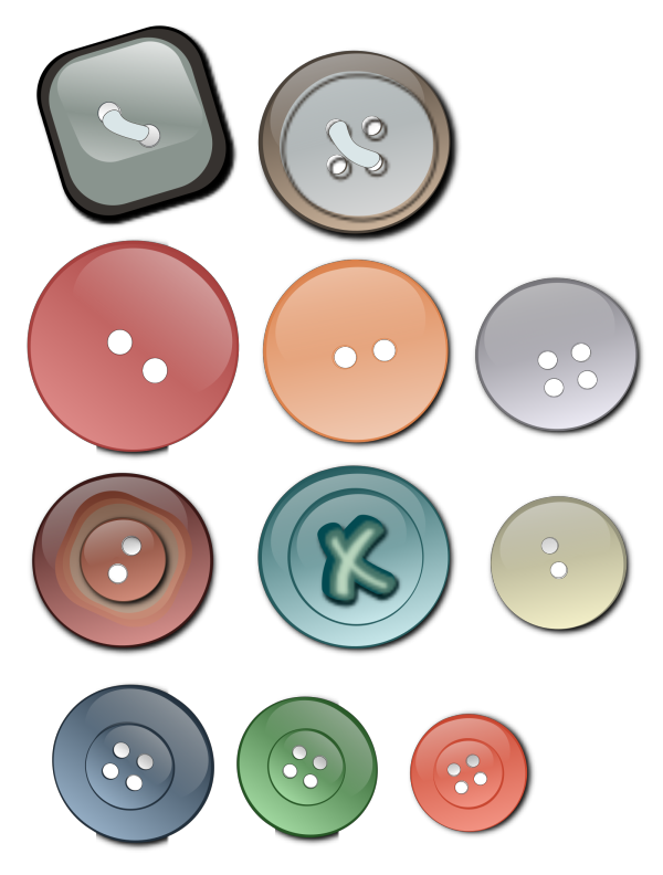 Freevector Icons Buttons PNG Clip art