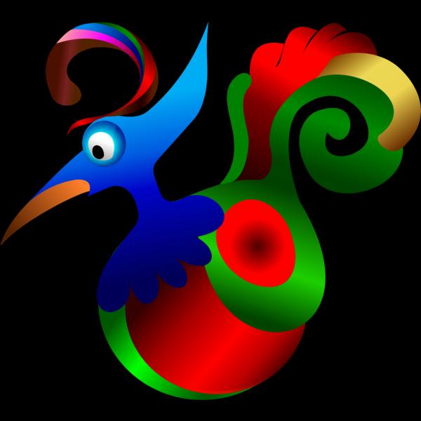 Decorative Bird PNG Clip art
