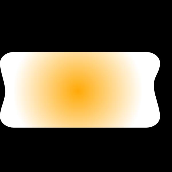 Blank Light Yellow Button PNG Clip art