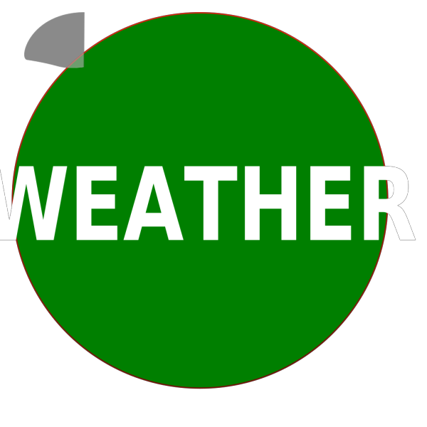 Weather Button PNG Clip art