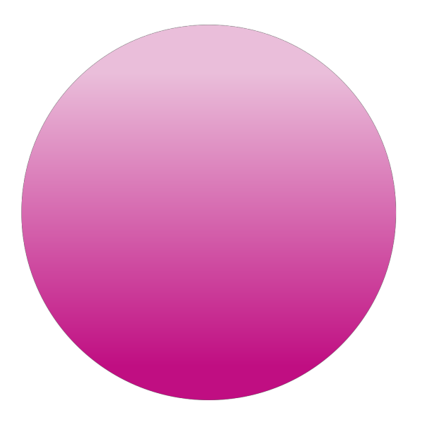 Glossy Pink Circle Button PNG Clip art