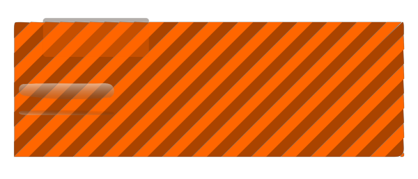 Orange Register Here Button PNG Clip art