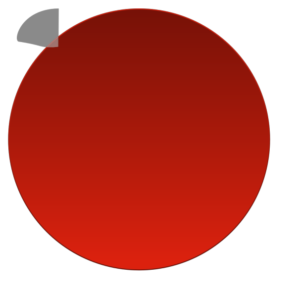 Red Glossy Button No Text PNG Clip art