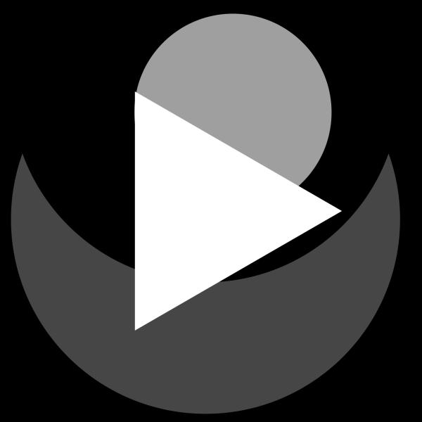Black Play Button PNG Clip art