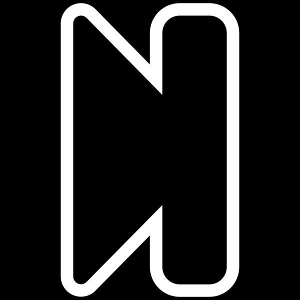 Black Pause Button PNG Clip art