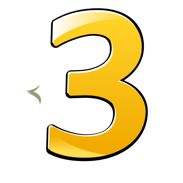 Number  2 Button PNG Clip art