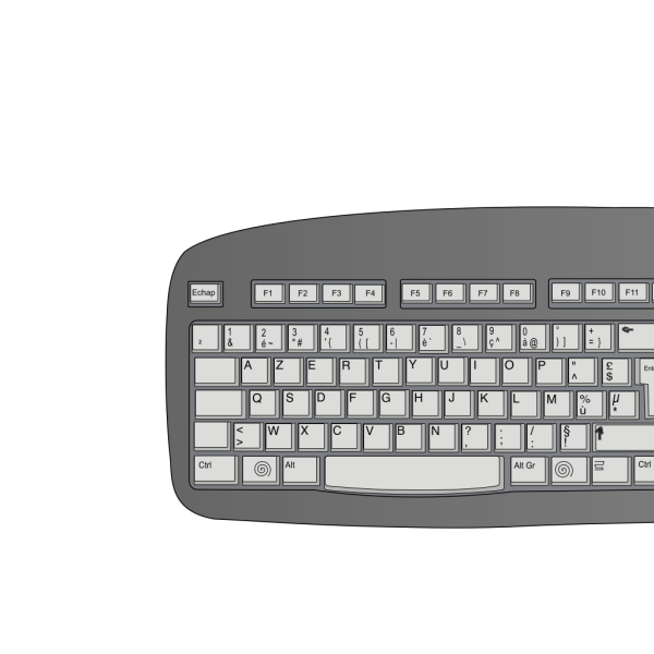 O Keyboard Button PNG Clip art