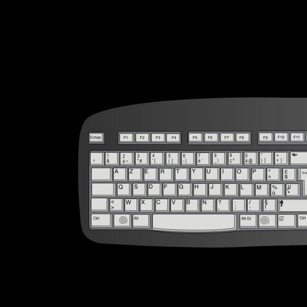 O Keyboard Button PNG Clip art