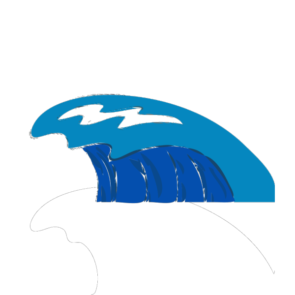 Water Waves 2 PNG Clip art