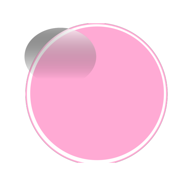 Glossy Pink 2 Button PNG Clip art