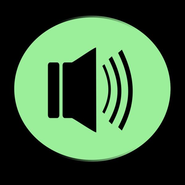 Speaker Button PNG Clip art