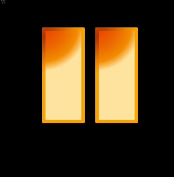 Orange Buy Button PNG Clip art