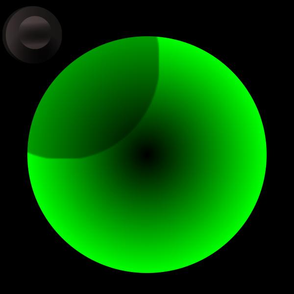 Green Power Button PNG Clip art