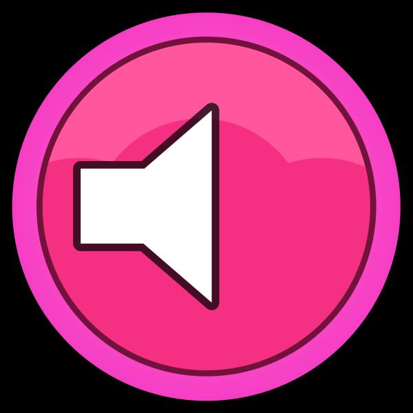 Pink Plain Button PNG Clip art