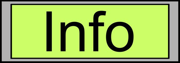 Purple Circle Info Button PNG Clip art