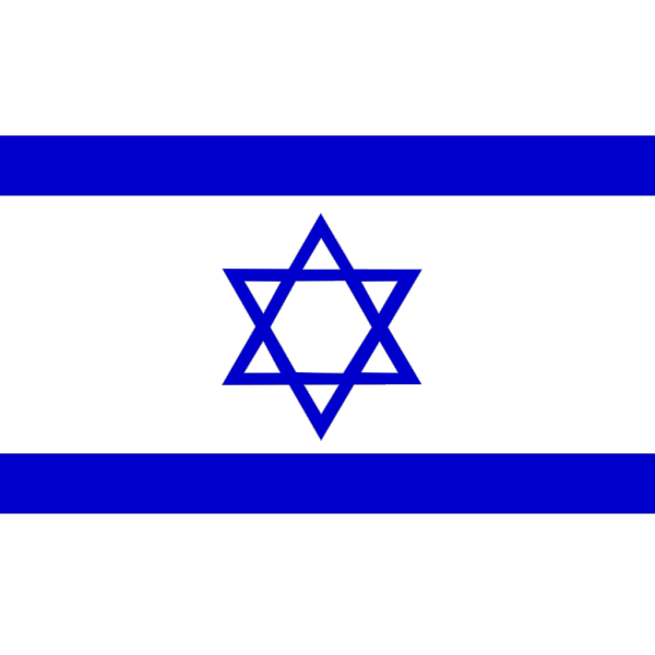 Israel Flag PNG icons