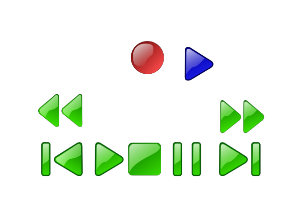 Windows Media Player Skip Back Button Grey PNG Clip art