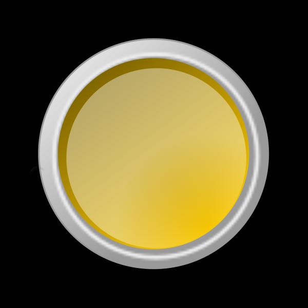 Button Yellow Push PNG Clip art