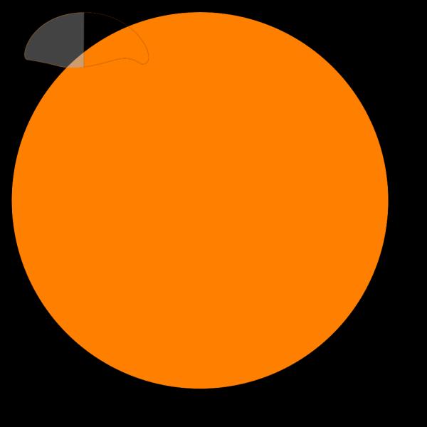 Button-orange PNG Clip art