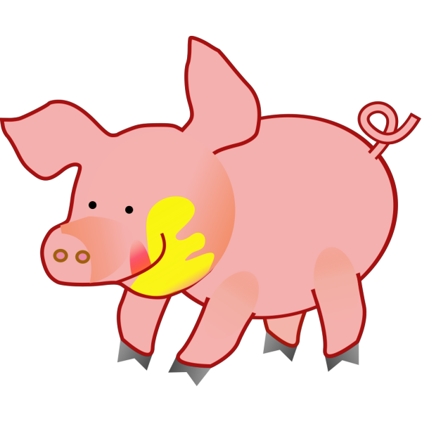 Happy Pig PNG images
