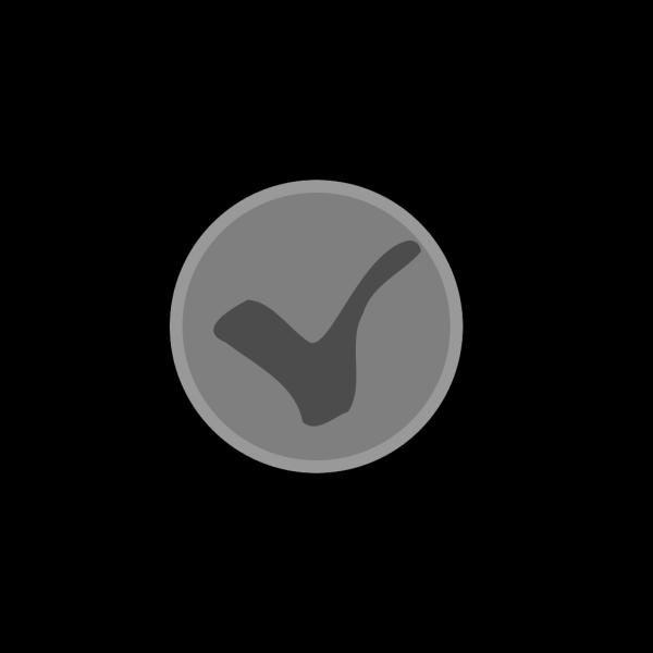 Small-grey-check-mark.png PNG Clip art