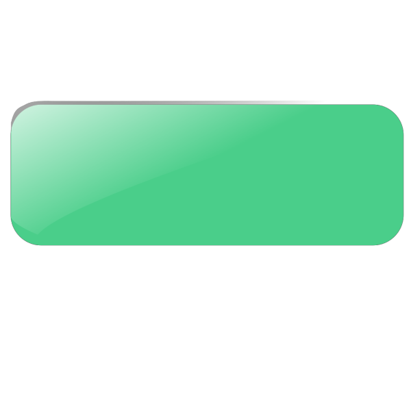 Green Rect Button PNG Clip art