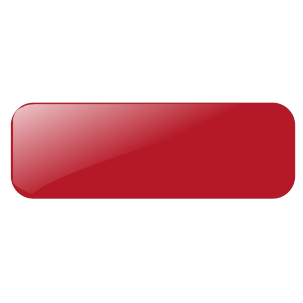Blank Red Button Rect PNG Clip art