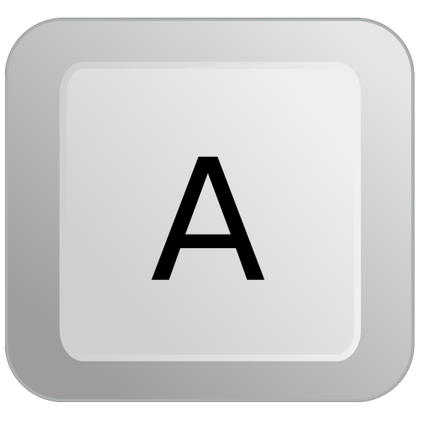 A Keyboard Button PNG Clip art