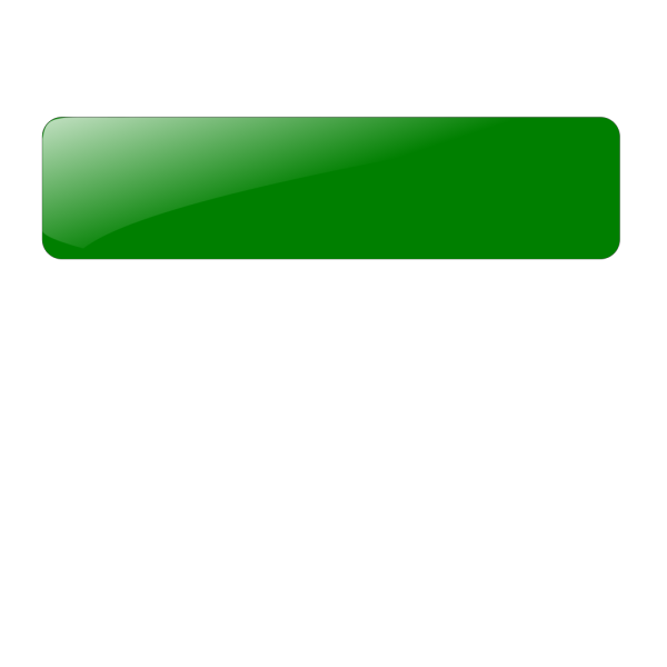 Blank Green Button 3 PNG Clip art