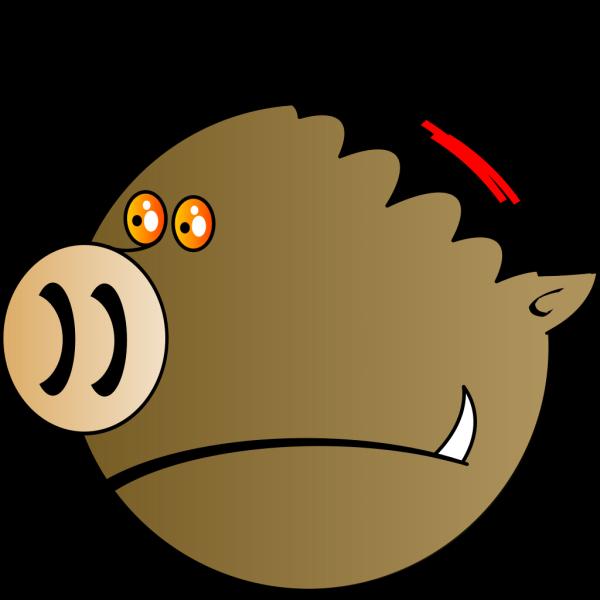 Pig Head PNG Clip art