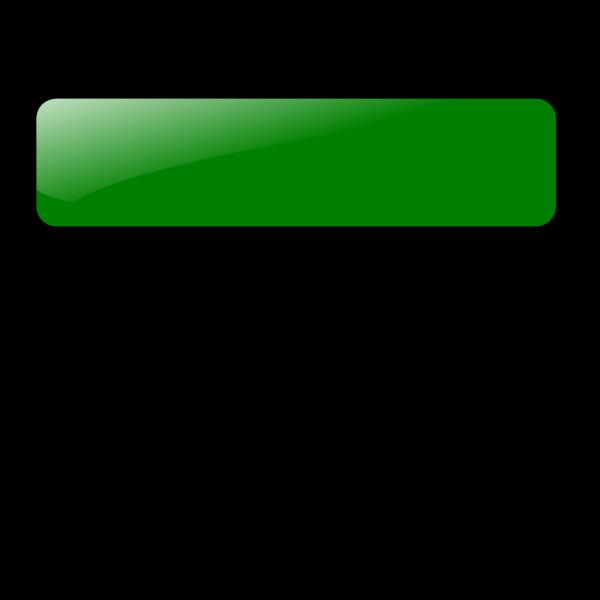 Blank Green Button 7 PNG Clip art