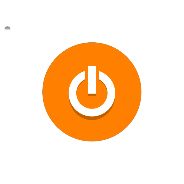Oranzove Tlacitko PNG clipart