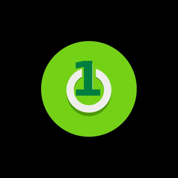 Power Green2 PNG Clip art