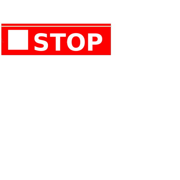 Stop Red Button PNG Clip art