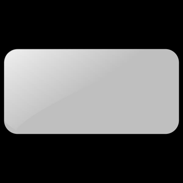 Gray Rectangle Button PNG Clip art
