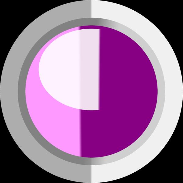 Button Pink PNG Clip art