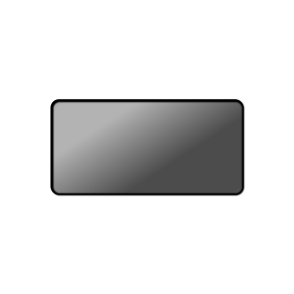 Gray Button Rectangle PNG Clip art