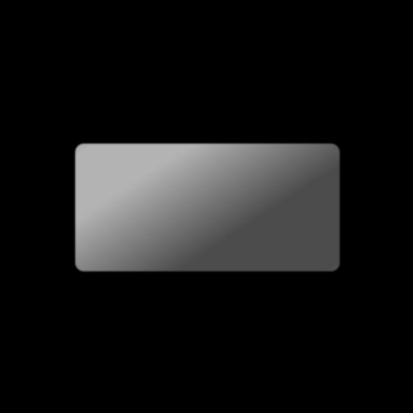 Gray Button Rectangle PNG Clip art
