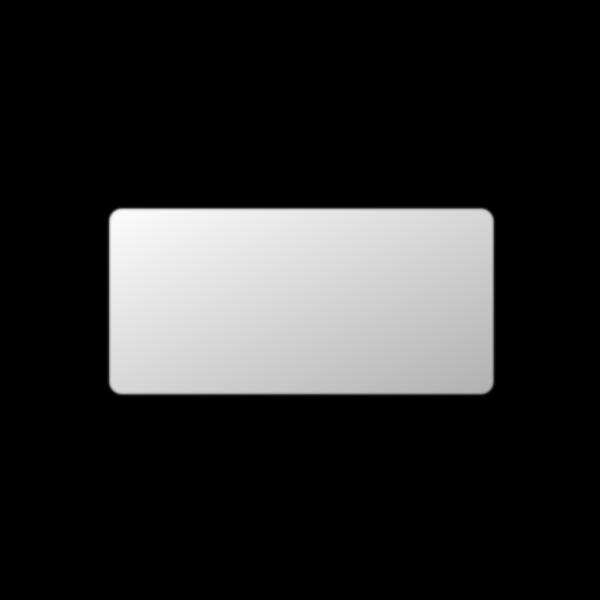 Light Gray Button Rectangle PNG Clip art