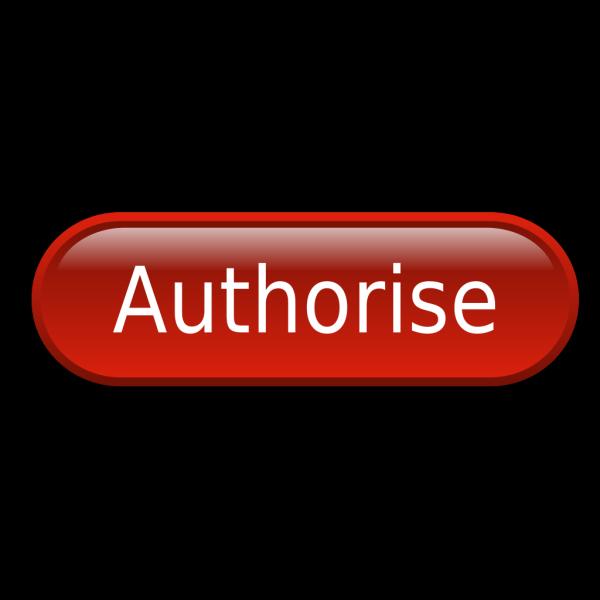 Authorise PNG Clip art
