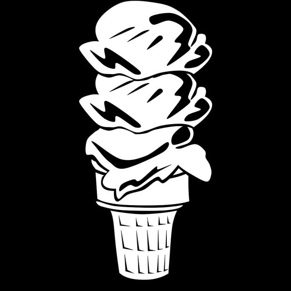 Ice Cream Cones Ff Menu PNG Clip art