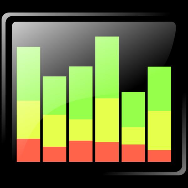 Graph Button PNG Clip art