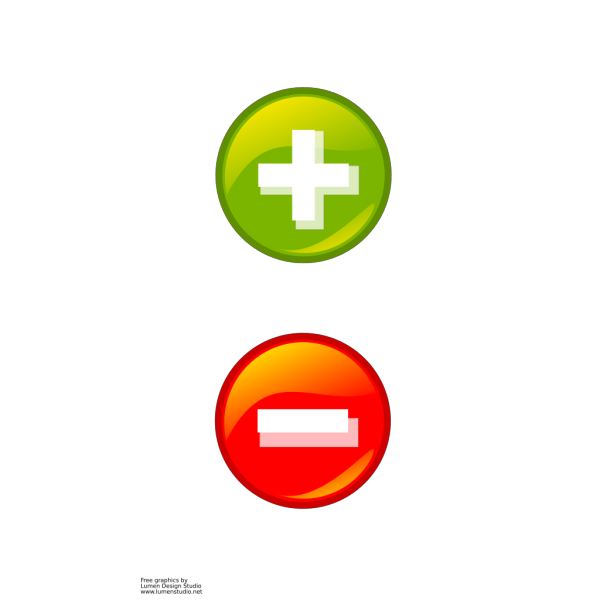 Plus And Minus Buttons PNG Clip art