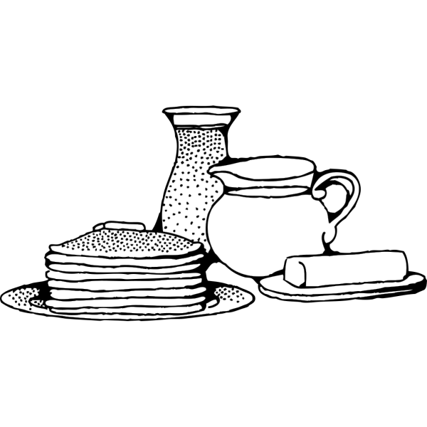Breakfast With Pancakes PNG icons
