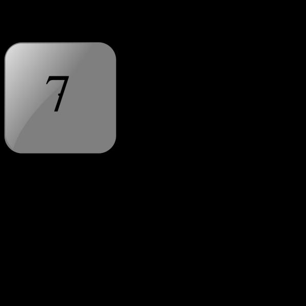 7 Blank Black Button PNG Clip art