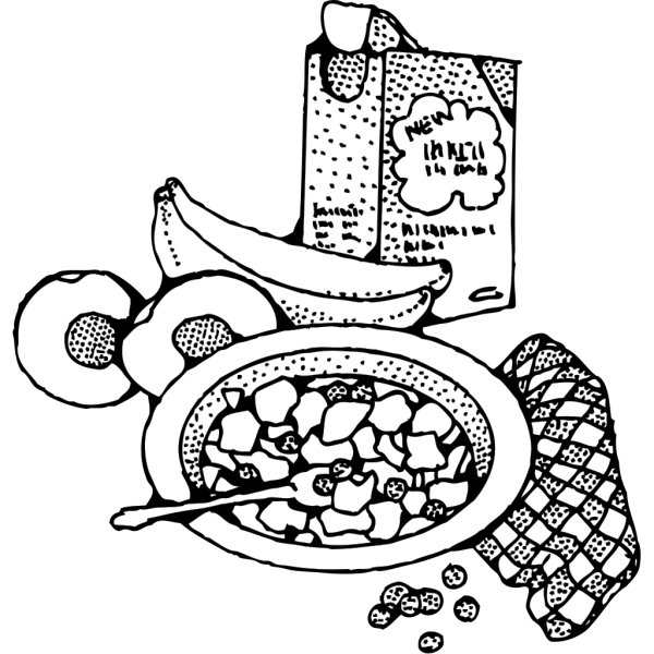 Breakfast With Cereal PNG Clip art