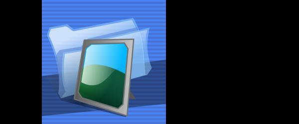 Simple Blue Square PNG Clip art