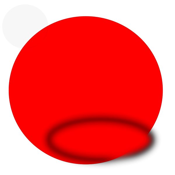 Simple Red Circle PNG Clip art