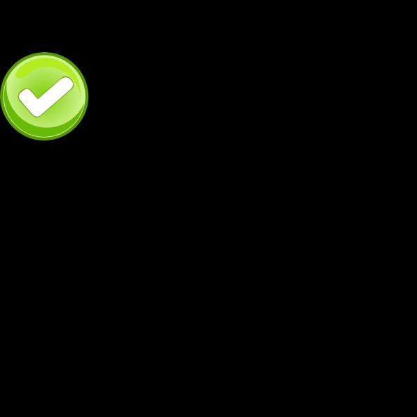 Check Mark Button PNG Clip art
