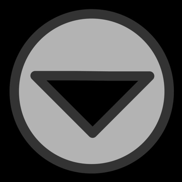 Down Arrow Button PNG Clip art